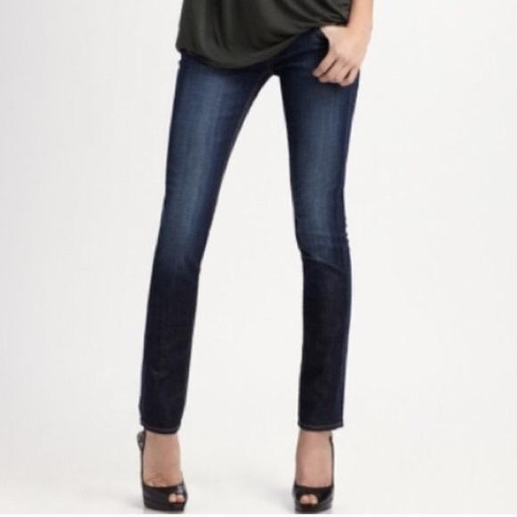 Hudson Jeans Denim - Hudson Collin Skinny Jeans in Elm